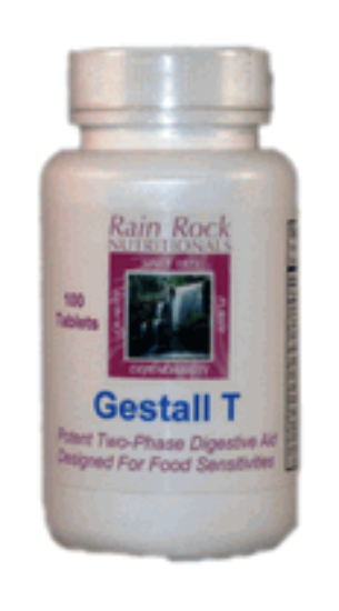 Picture of Gestall T™  Enzyme Based Digestive Aid 100 Count For Food Tolerance Issues