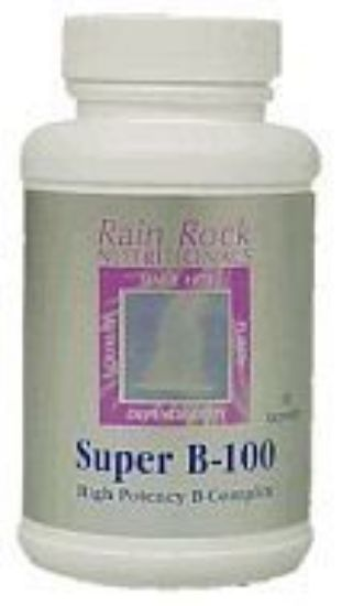 Picture of Super B-100 High-Potency B-Complex 90 Capsules