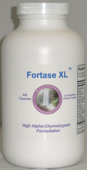 Picture of Fortase XL 400 enteric coated enzyme Capsules